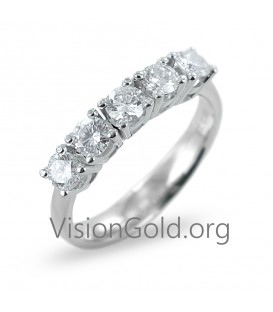 Diamond eternity ring 1,00 ct