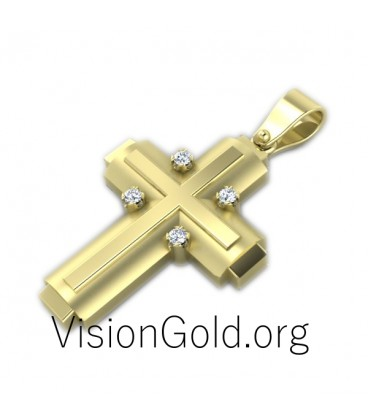 Women's Cross 0065,Christian Jewelry for Men and Wo