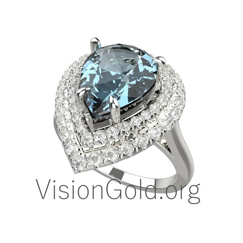 Aquamarine Ring & Jewelry 0448