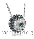 Trendy evil eye necklace design 0239