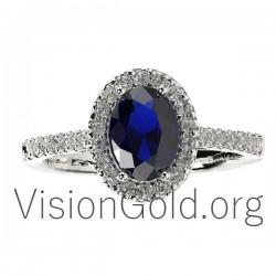 Δαχτυλίδι με διαμάντια 0120