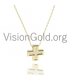 Diamond Crosses for Women 0095