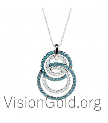 Gold Pendant Necklace 0354